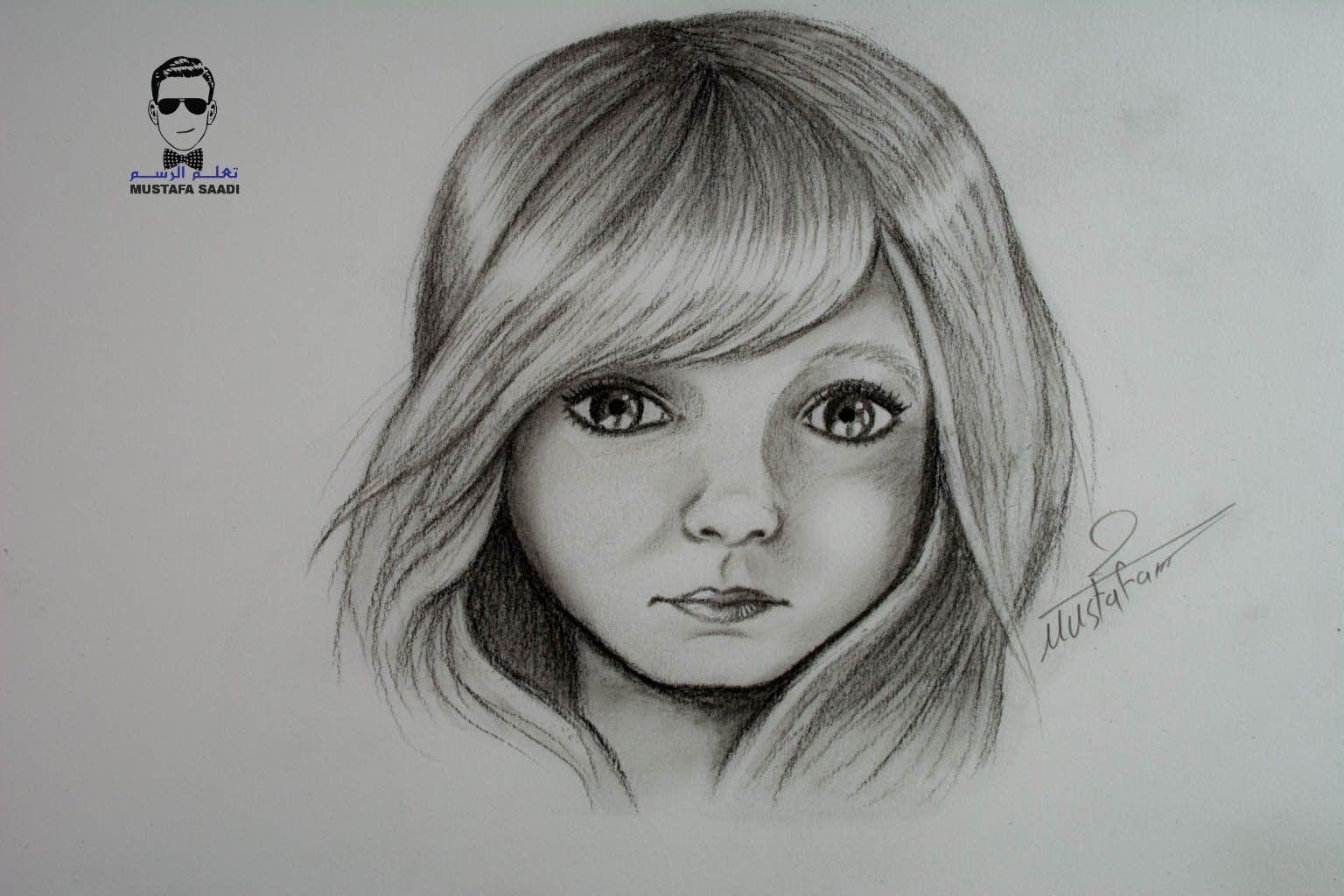 نتيجة بحث الصور عن رسومات شعر بنات بالرصاص Cartoon Girl Drawing Girl Cartoon Drawings