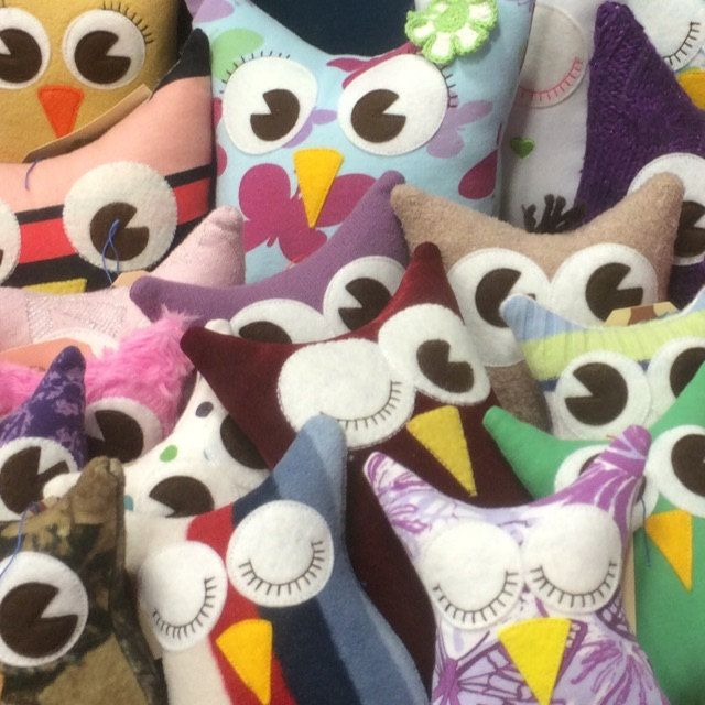 Really love the quality of the felt I get on @Etsy from sweetemmajean - couldn't make all these eyes and beaks without her! #EtsyStar