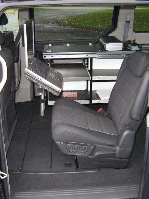 Mobile Office | Camper Van | Mobile office, Mobile workshop, Rv trailers