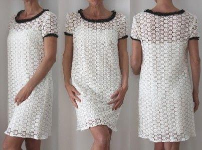 Tuto robe dentelle femme