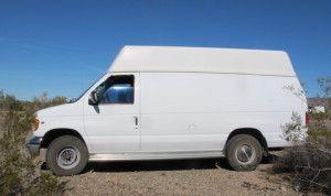 extended cargo van on Craigslist
