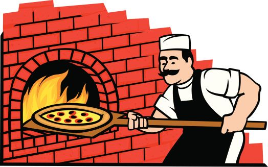 Cartoon Chef Cooking Pizza Clip Art Vector Images Amp Illustrations Pizza Cartoon Cartoon Clip Art Cartoon Chef