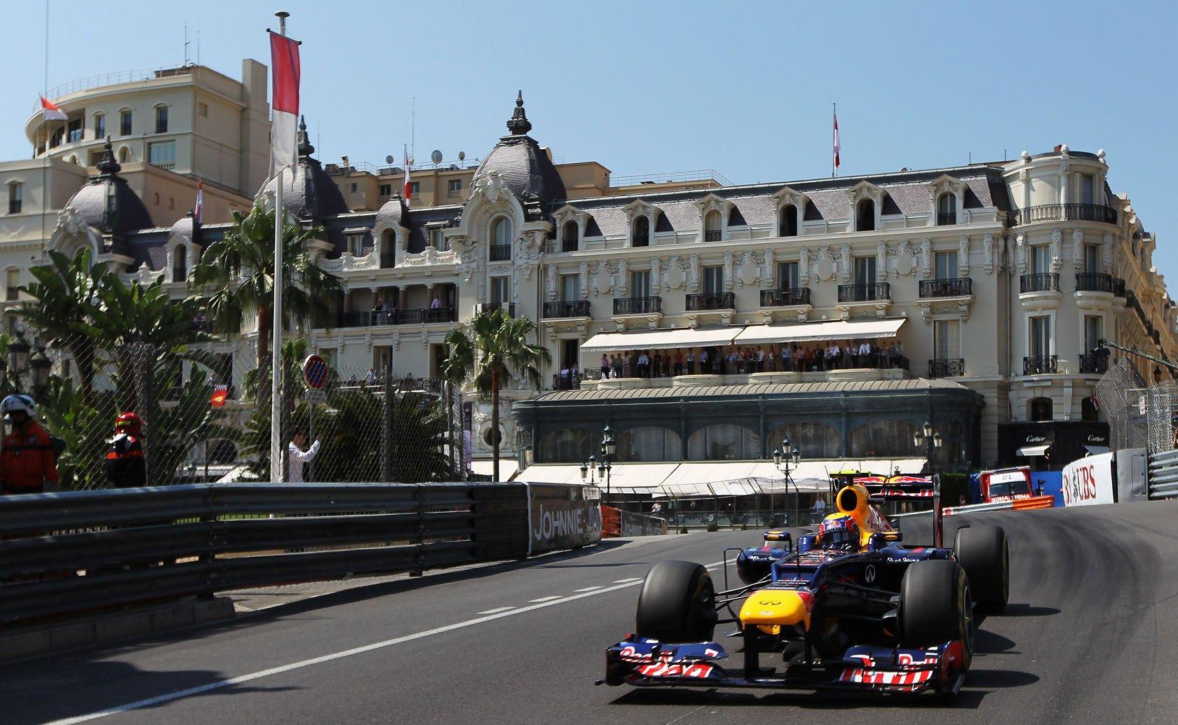 Mark Webber, Red Bull, 2012 Monaco Grand Prix. Monaco