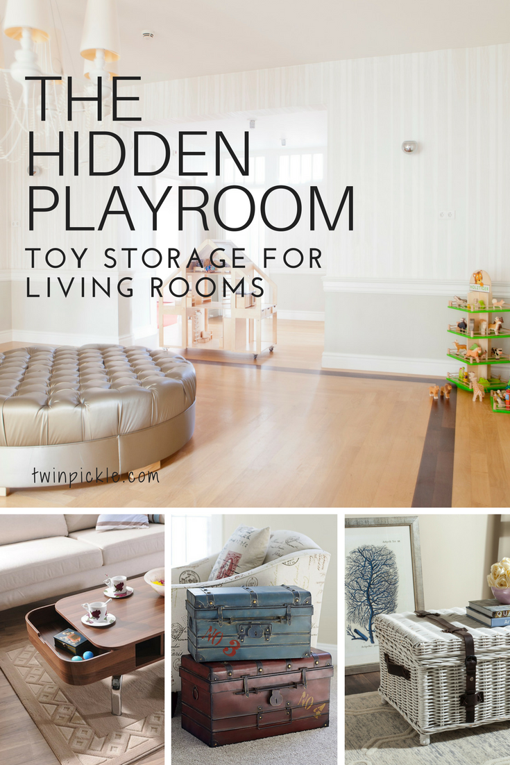 Toy Storage For Living Rooms The Hidden Playroom Living Room