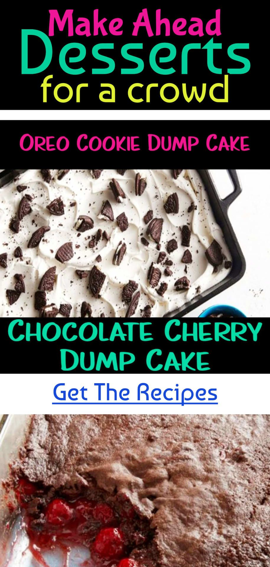 Super Simple Desserts Easy Dump Cake Recipes For Quick And Delicious Desserts For A Crowd Clever Diy Ideas Desserts For A Crowd Dump Cake Recipes Easy Dump Cake Recipe