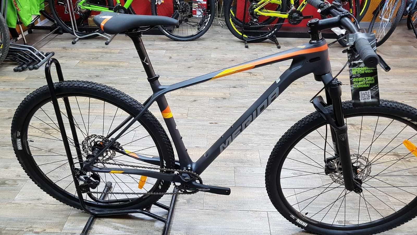 Bicicleta Merida Big Nine En Talla L 51455 Categoría Bicicletas De Montaña Año 2019 Cambio Shimano Slx Co Bicicletas Merida Bicicletas Bicicletas Mtb