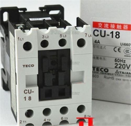 description teco cu-18 magnetic contactor 35 amp, 3 phase, 220v coil 3a1a1b  (both no and nc terminals)