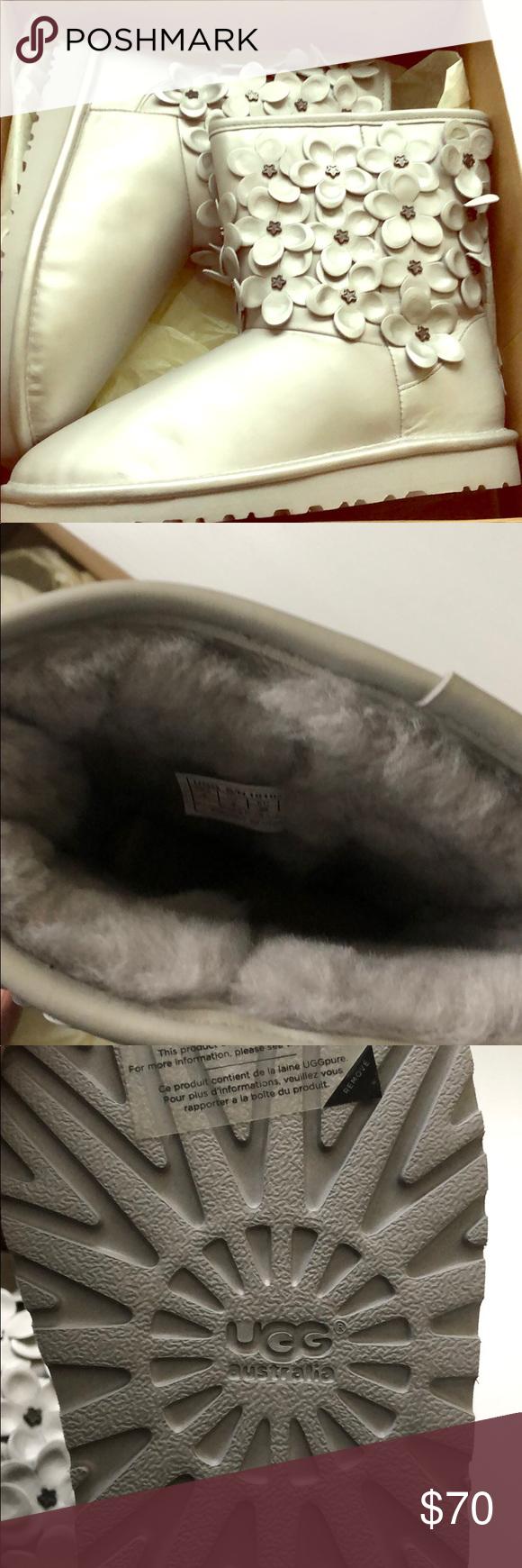 8c63bd98640 Women's Ugg Boots Flower Sterling Brand New Women's Ugg Boots B ...