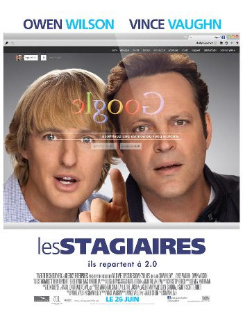 """""""Les stagiaires"""" Ma note: 3/5"""