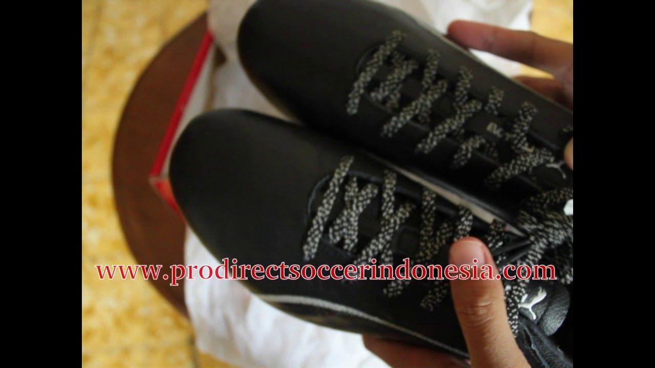 Sepatu Bola Puma Evotouch 2 Fg Black Silver 103693 04 Original
