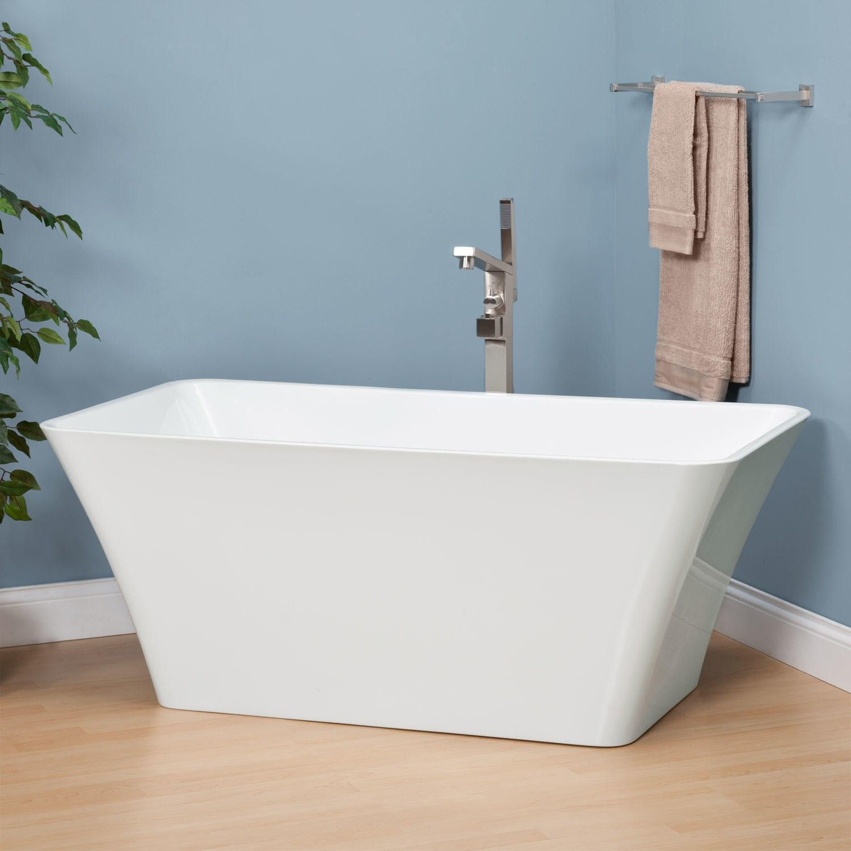 Cullen Acrylic Tub Freestanding Tubs Bathtubs Bathroom
