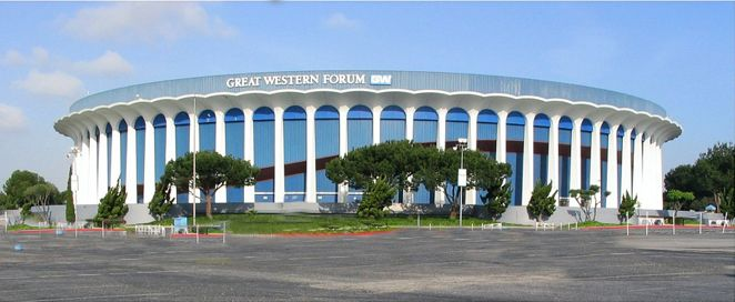Great Western Forum L A Home Of The Showtime Era Los Angeles