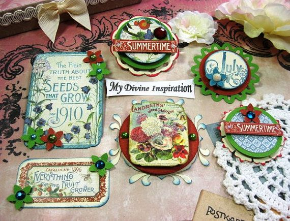 G45 Time to Flourish July Handmade Paper by mydivineinspiration