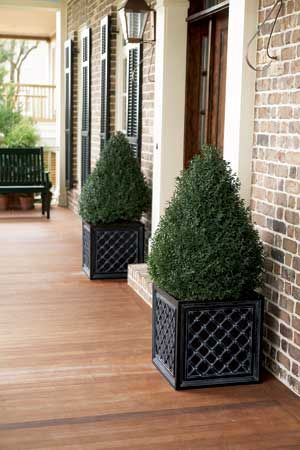 Spring Decor Front Porch Curb Appeal