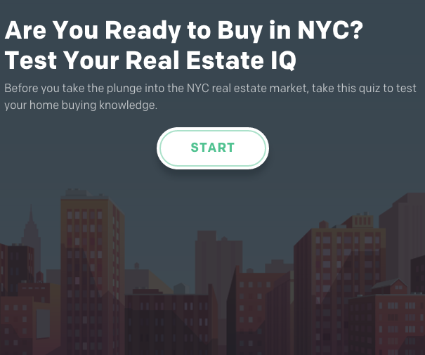 Buying for the first time in New York City? Take this quiz