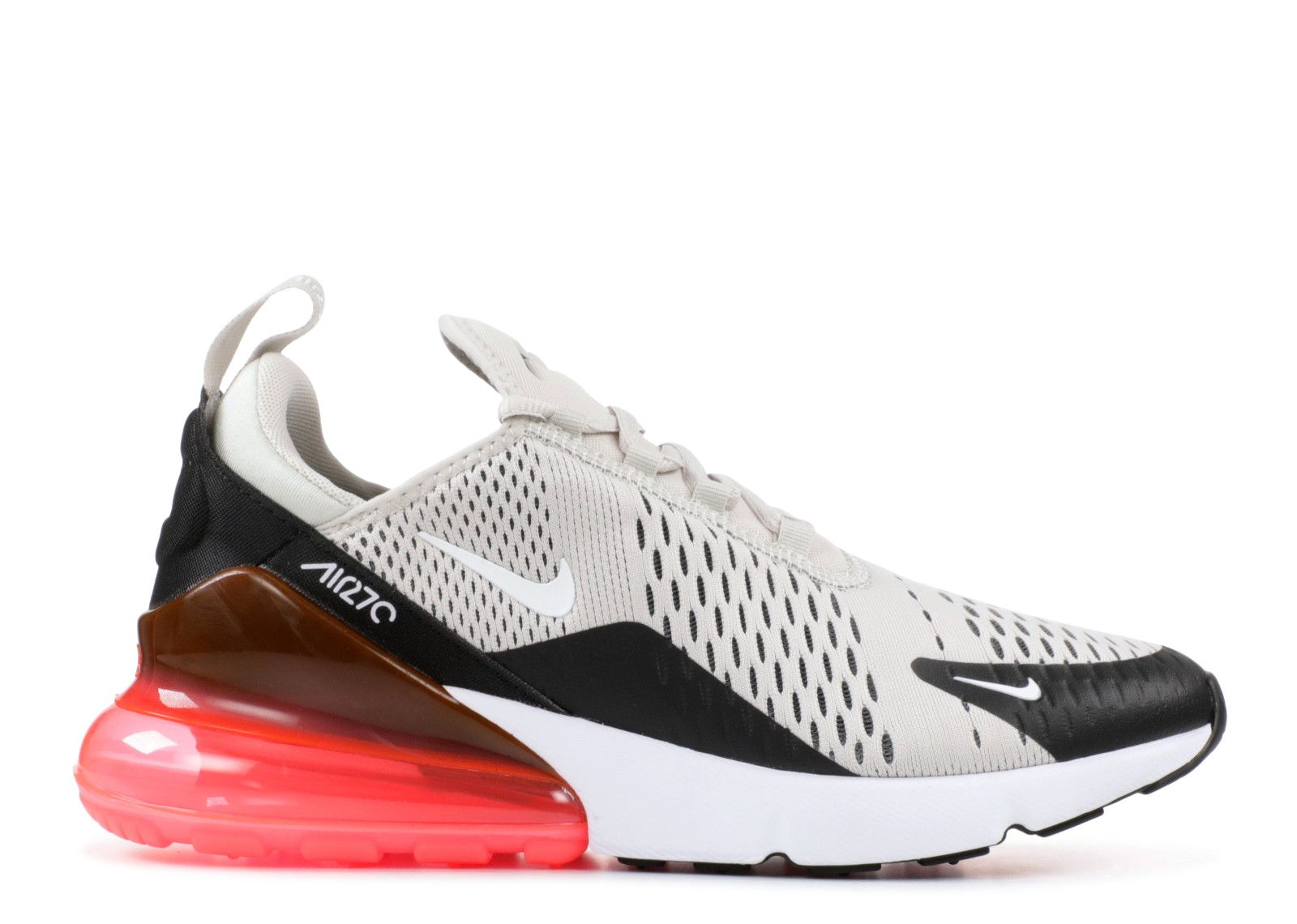 Air Max 270 - Nike - ah8050 003 - black light bone-hot punch  7b8fa2655