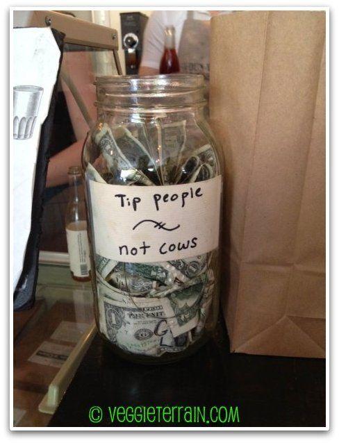 Veggie Terrain The Best In Nyc Dun Well Doughnuts Funny Tip Jars Tip Jars Jar
