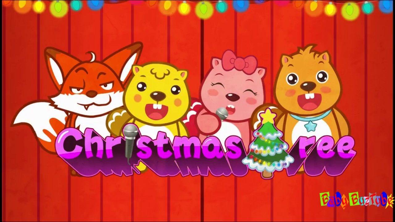 Christmas Tree Nursery Rhymes By Babybuz Tube Nursery