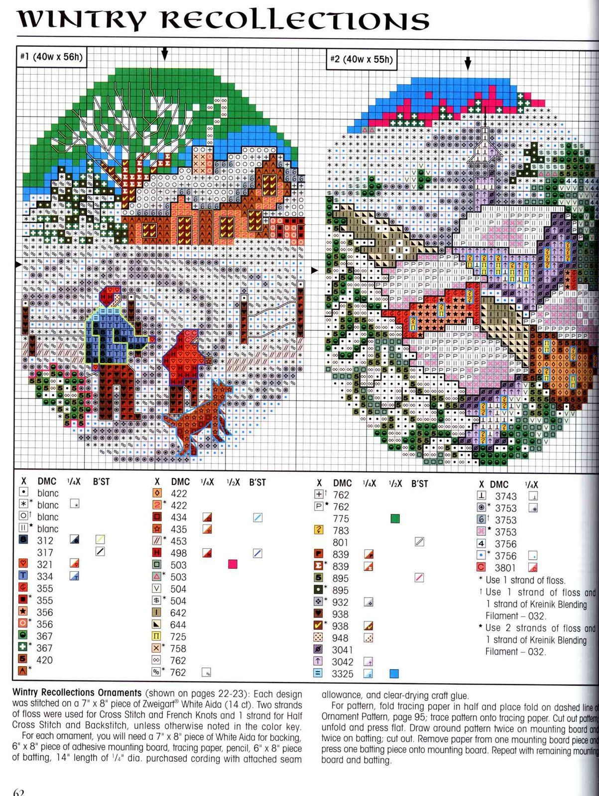 Houses, landscape cards