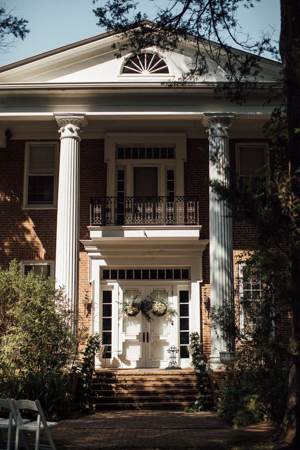 A fall wedding at the davis home at strawberry plains in