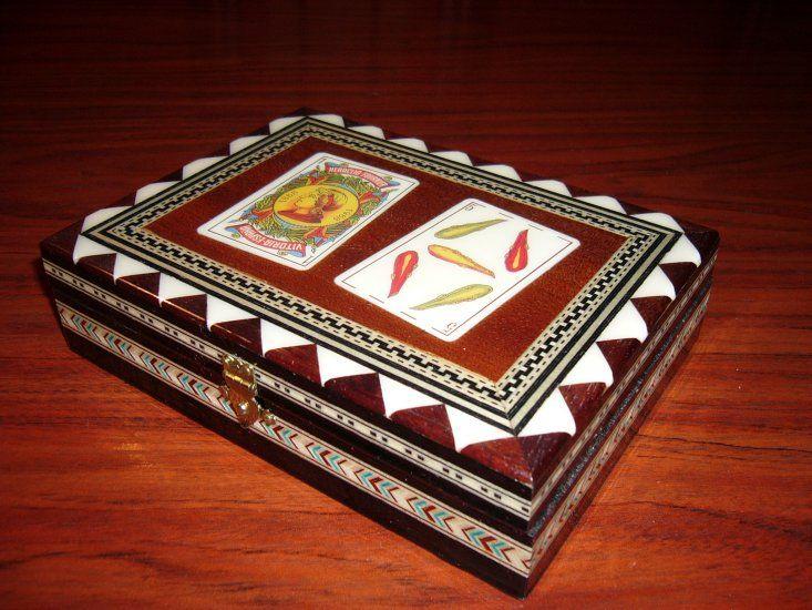Joyero / Jewelry box & Joyero / Jewelry box | Taracea granadina / Andalusian handicraft ... Aboutintivar.Com