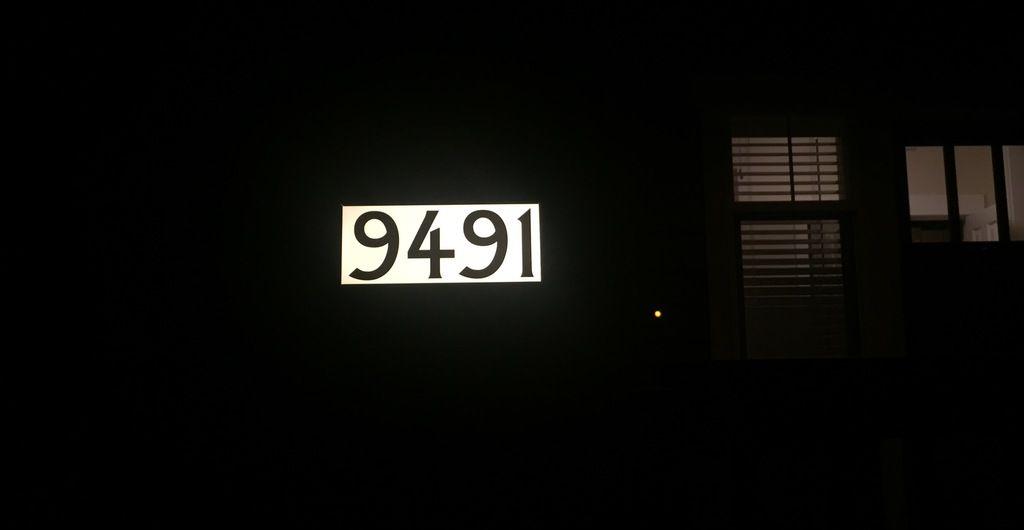 Lighted Street Address Signs Led