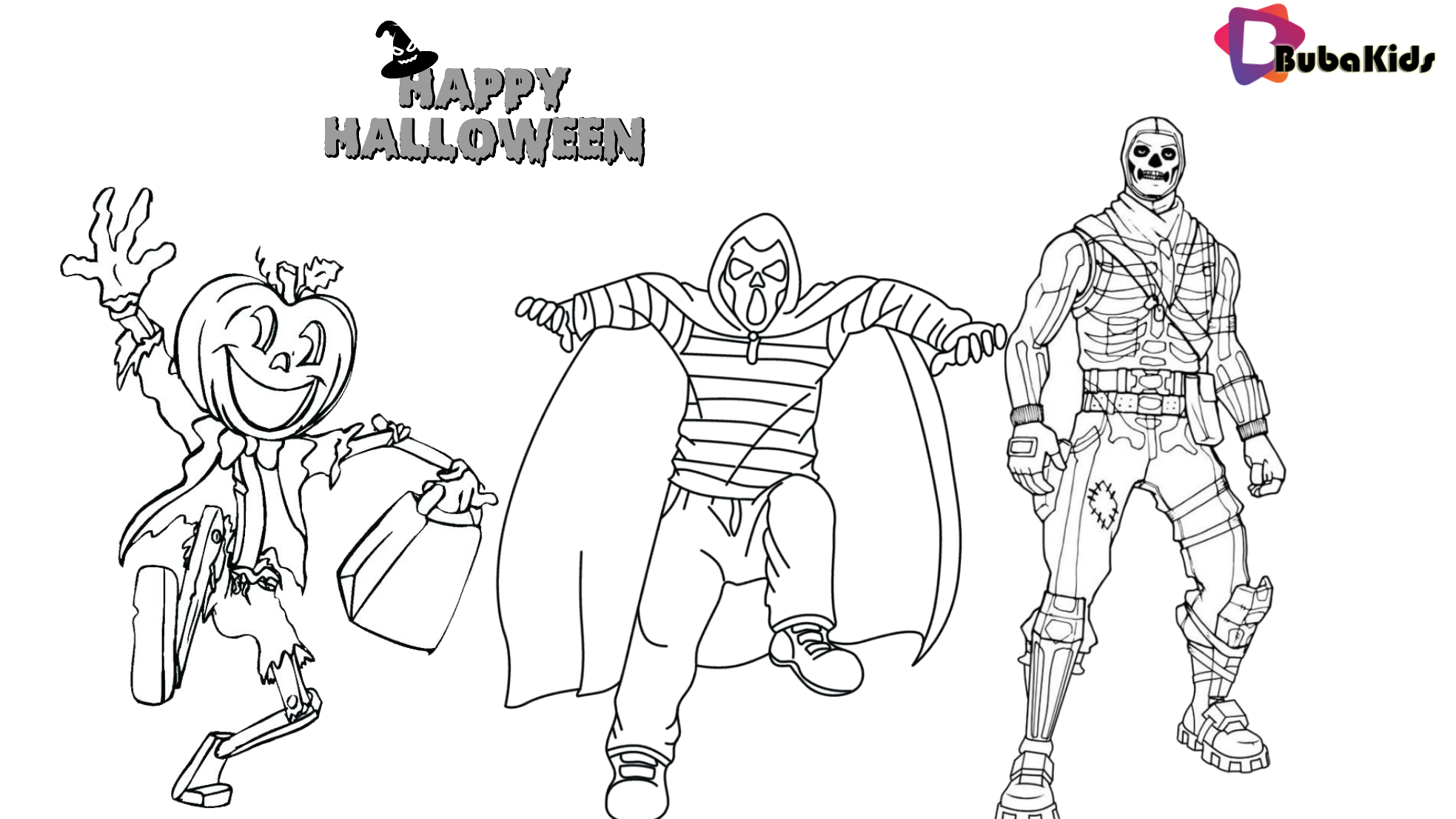 Costume For Halloween Party 2019 Printable And Coloring Page Fortnite Halloween Skull Trooper Fo Cartoon Coloring Pages Coloring Pages Halloween Coloring