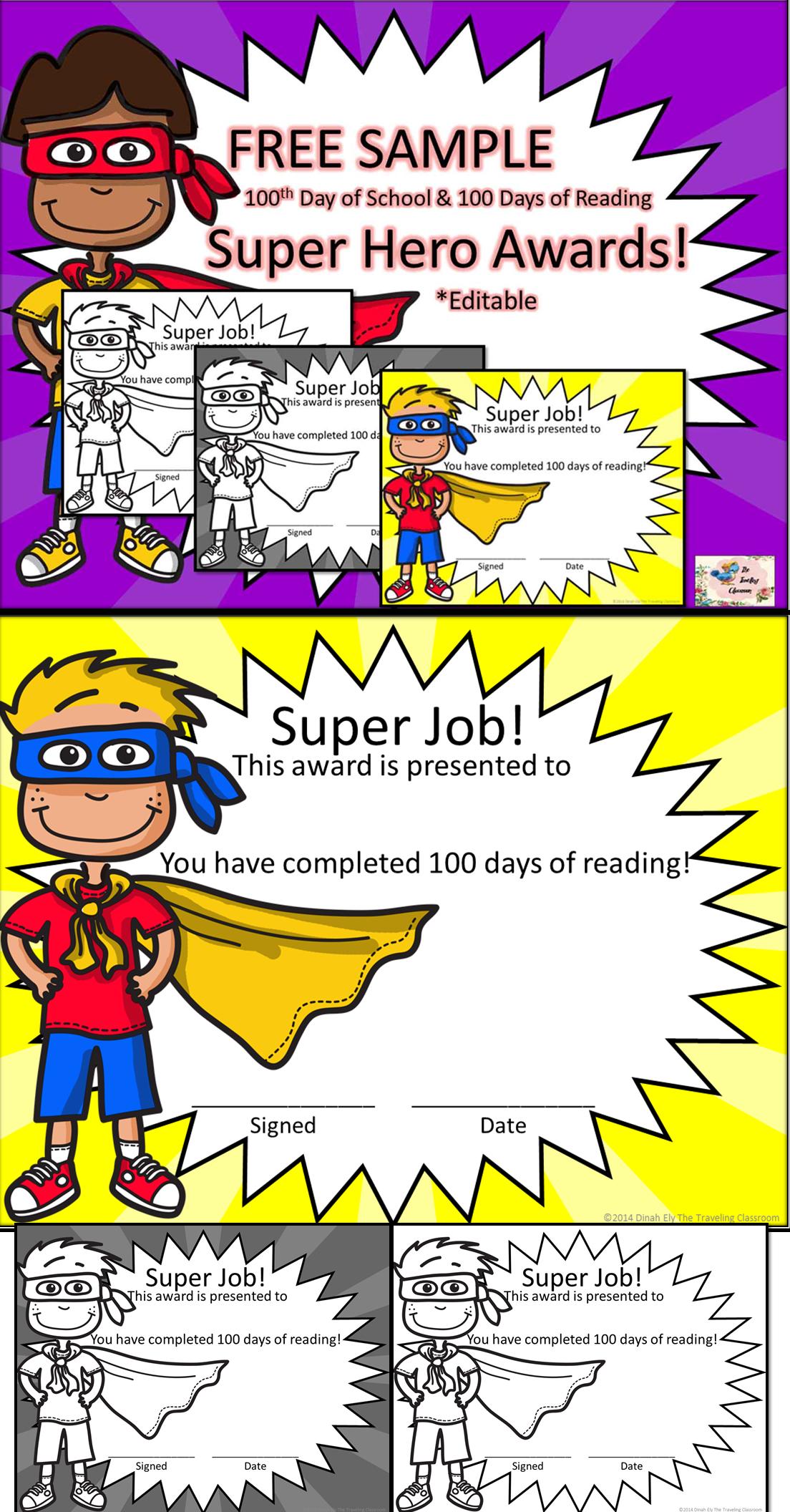 Reward Certificates Superhero Classroom Theme Superhero Classroom Superhero School