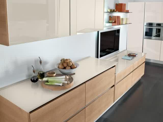 Zauberhaft-Tapete-für-küche-eiche-rustikal-küchenzeile-modernjpg - küche eiche rustikal