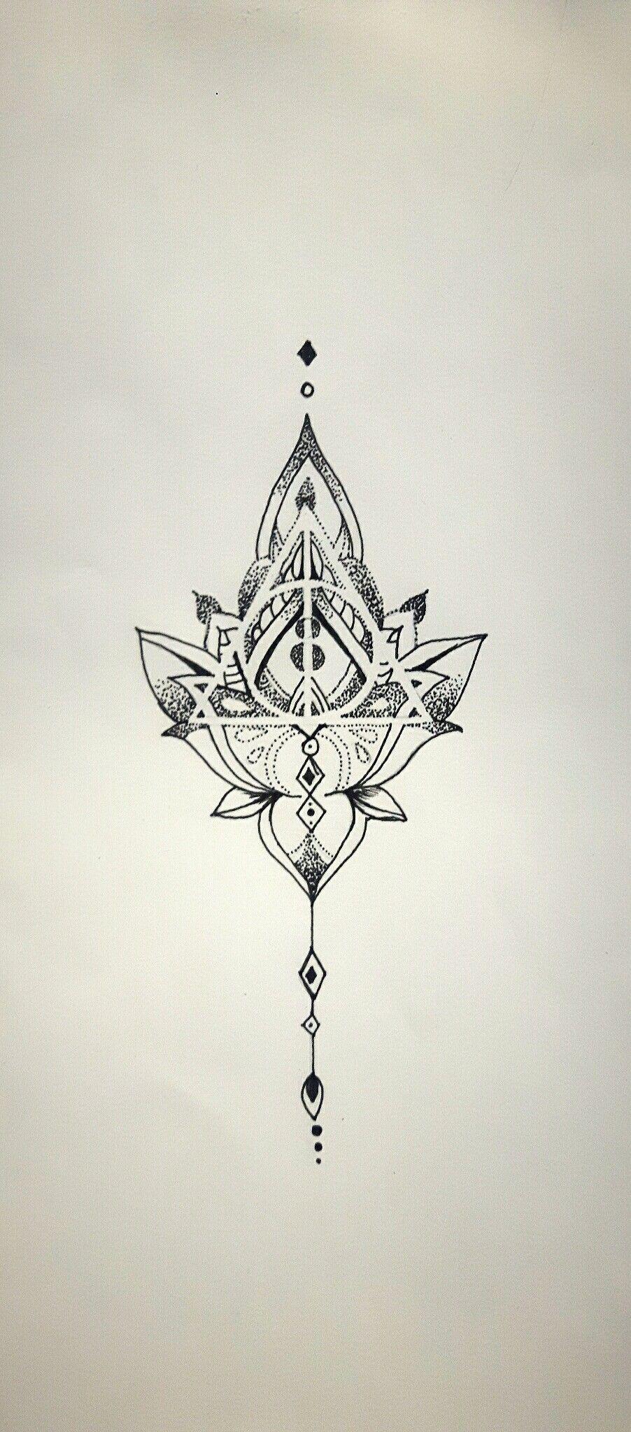 Mandala Deathly Hallows, tattoo idea. Own design Follow me on Insta @wlmscyn