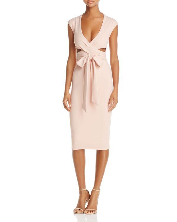 9db7facebc01f Nookie Miami Cross-Front Midi Dress | My Style | Dresses, Cutout ...