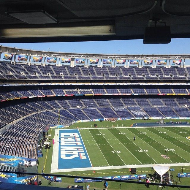 San Diego Chargers Stadium San Diego Chargers Los Angeles Chargers Nfl Stadiums
