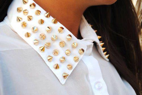Jessica ilyjessicaomg: studded collar #Lockerz
