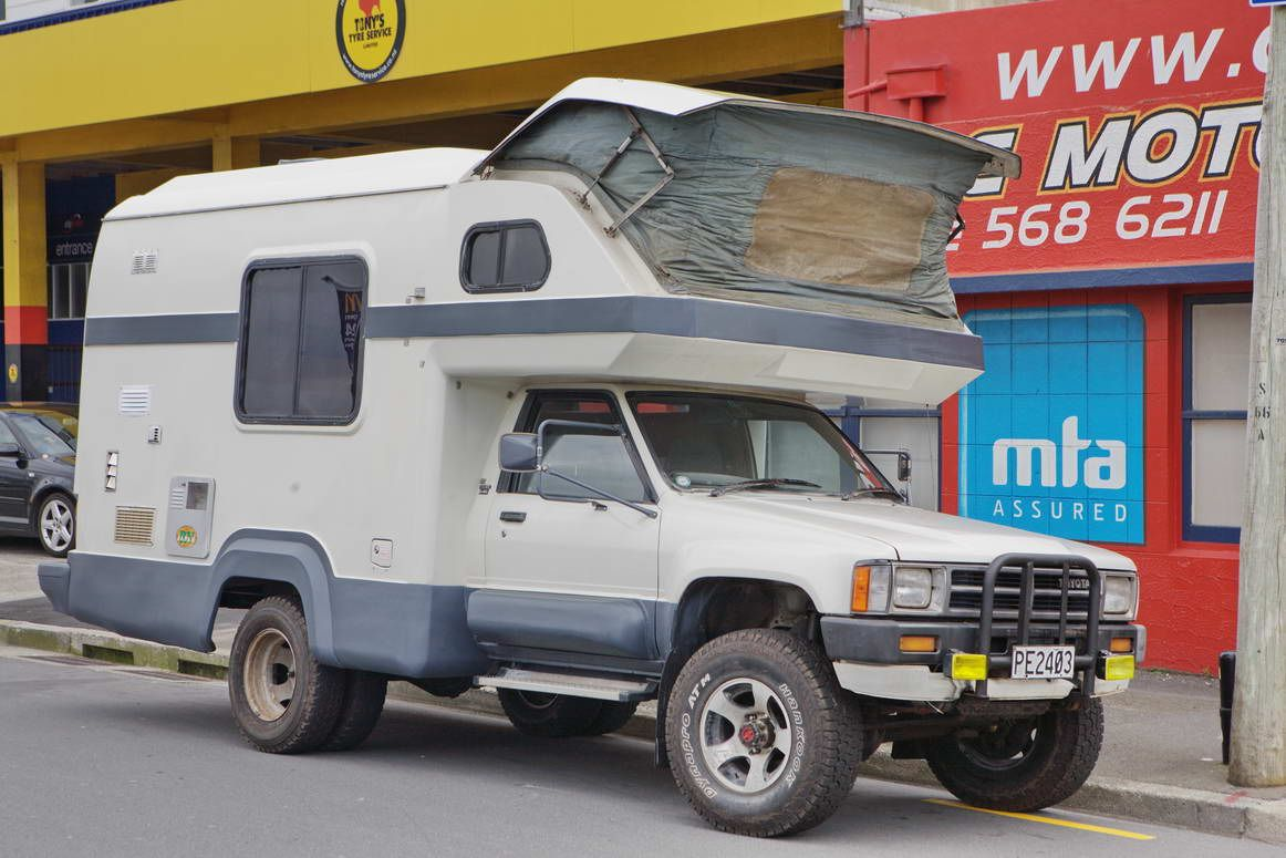88 Toyota Hilux Global Galaxy 4x4 Camper Rvs Of Interest Camper