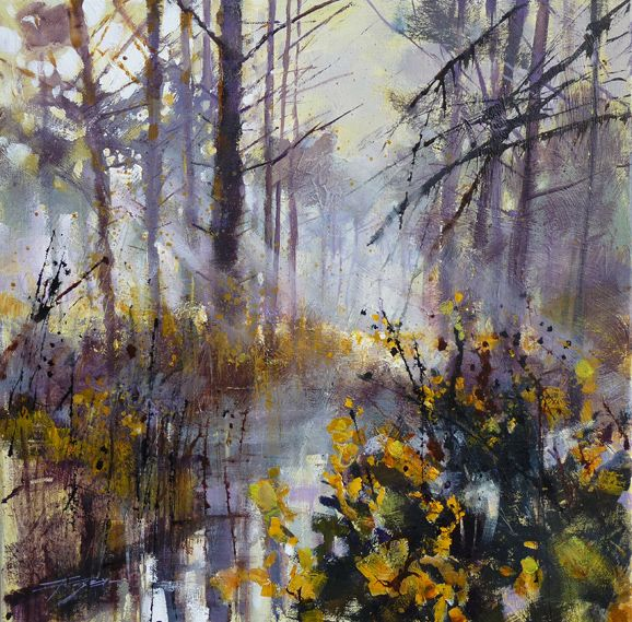 Chris Forsey At The Ashdown Gallery Art Landscape Paintings