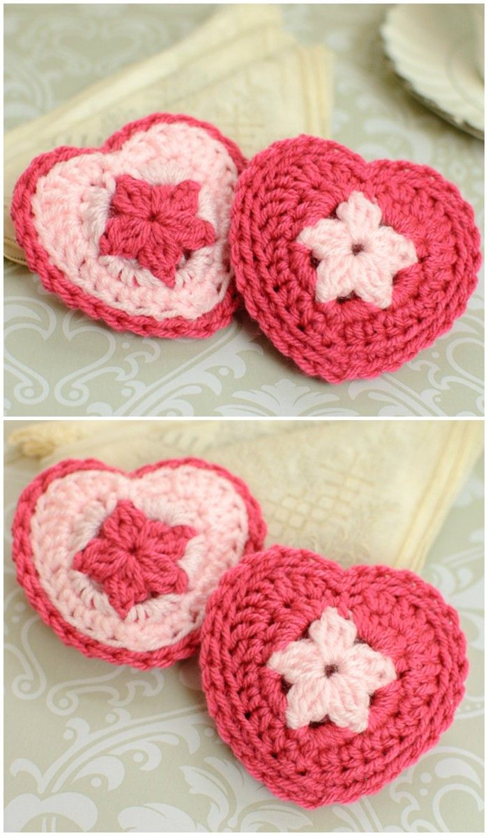 we have round up these Free Crochet Patterns for Valentine\'s Day ...