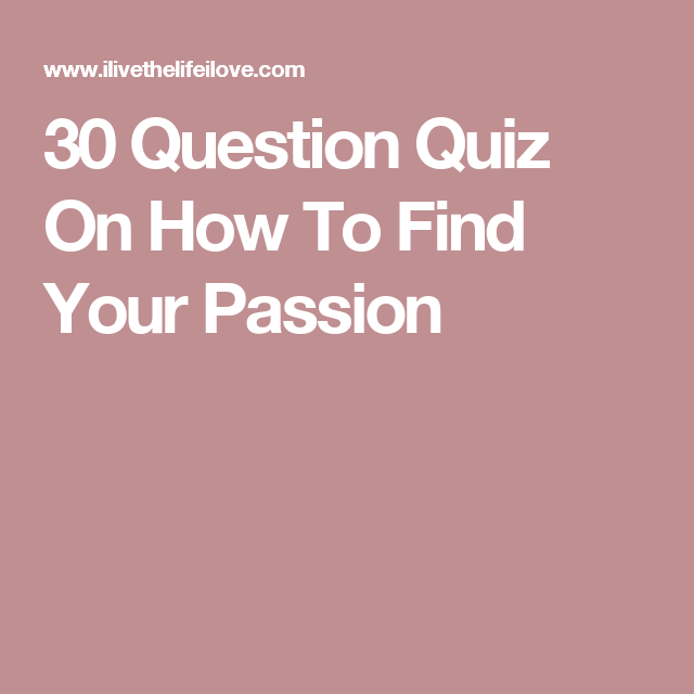 Find your dream girl quiz