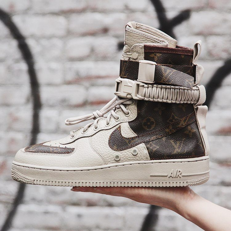 Louis Vuitton Inspiration Takes Over this Nike SF-AF1 Custom  fe3eb95b8