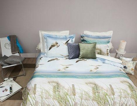 Vakantiesfeer in de slaapkamer.. Dekbedovertrek HNL BEACH Refined ...