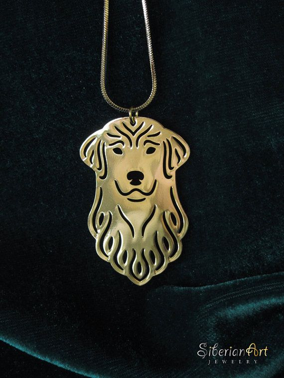 Golden Retriever Jewelry Gold Pendant And Necklace Products I