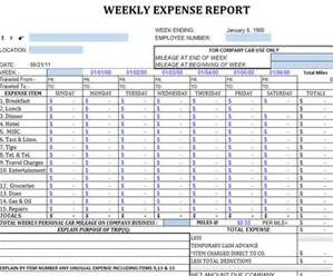 Printable Daycare Expense Template  Bing Images  Forms