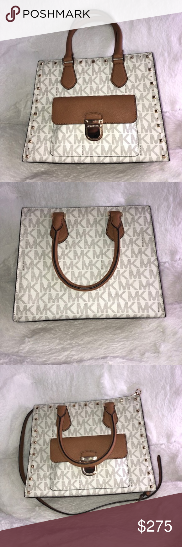 Micheal Kors Bridgette Stud Md Tote Never been used Michael