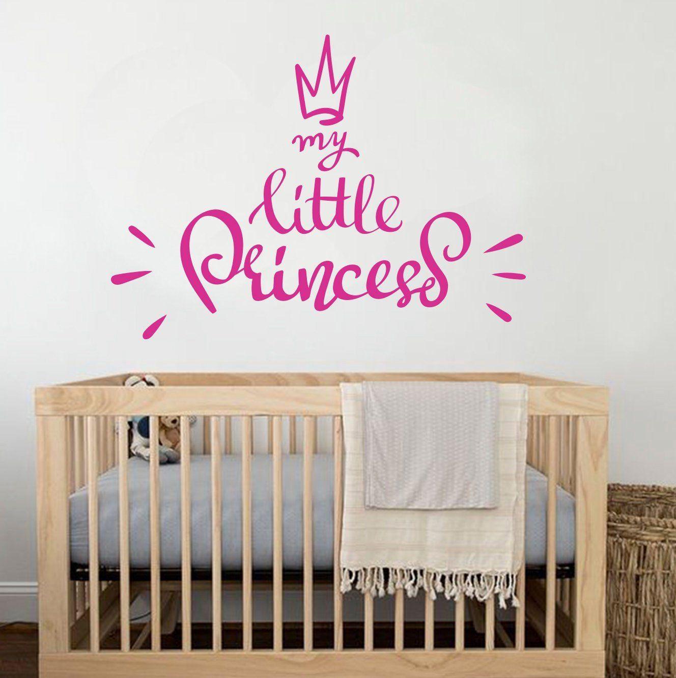 nursery Our Little Princess cute Baby pretty wall art vinyl decal sticker