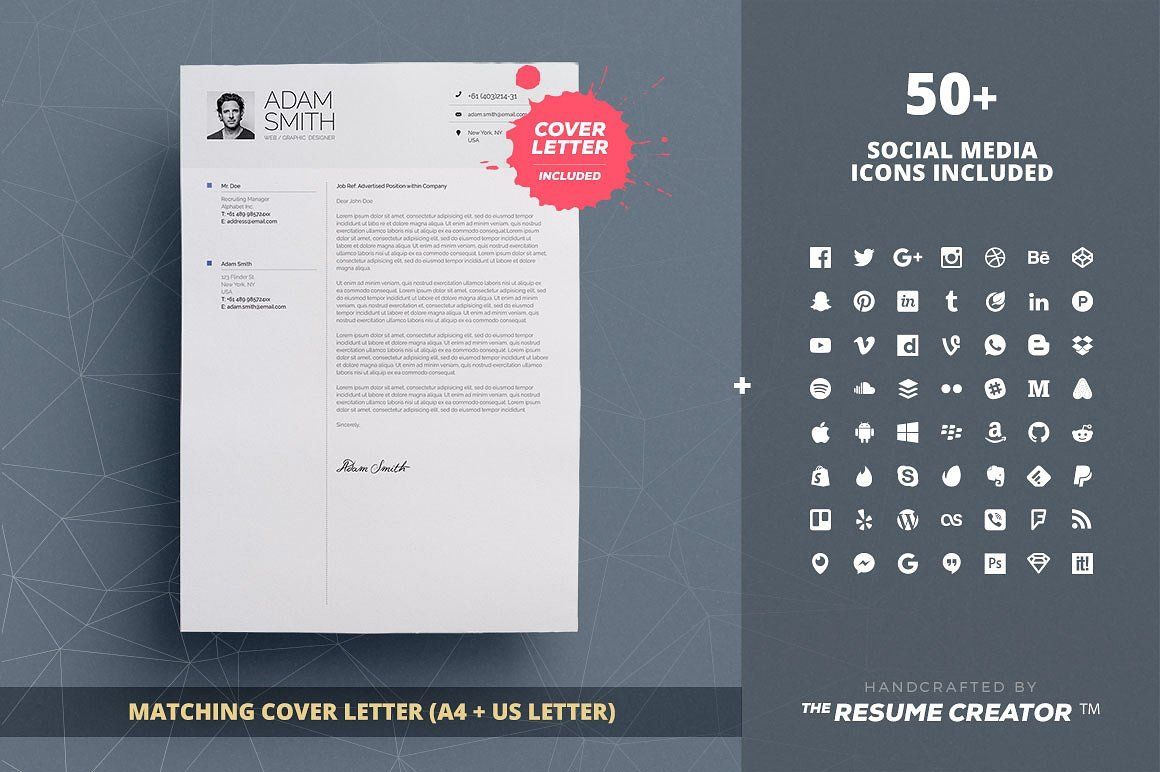 Infographic Resume Cv Template Vol 8 By Theresumecreator On
