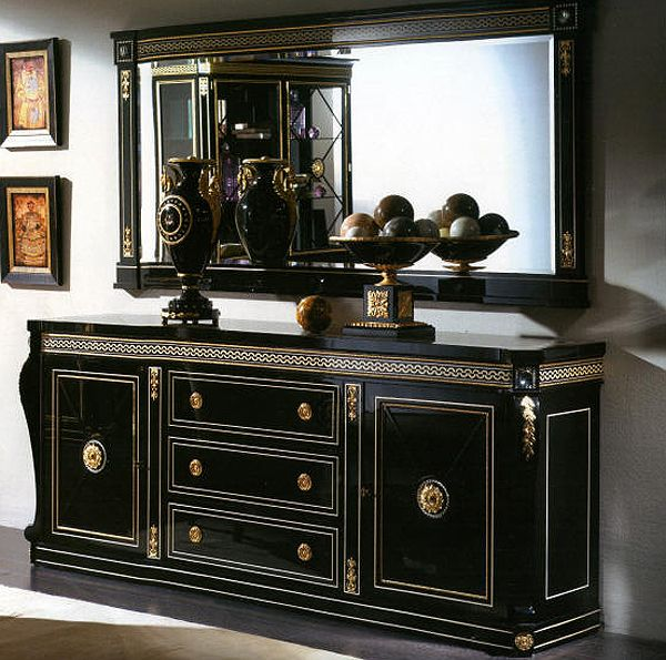 Dining Room Set In Empire Style Top And Best Italian Classic Furniture Dining Room Buffet Italian Dining Room Luxury Sideboard