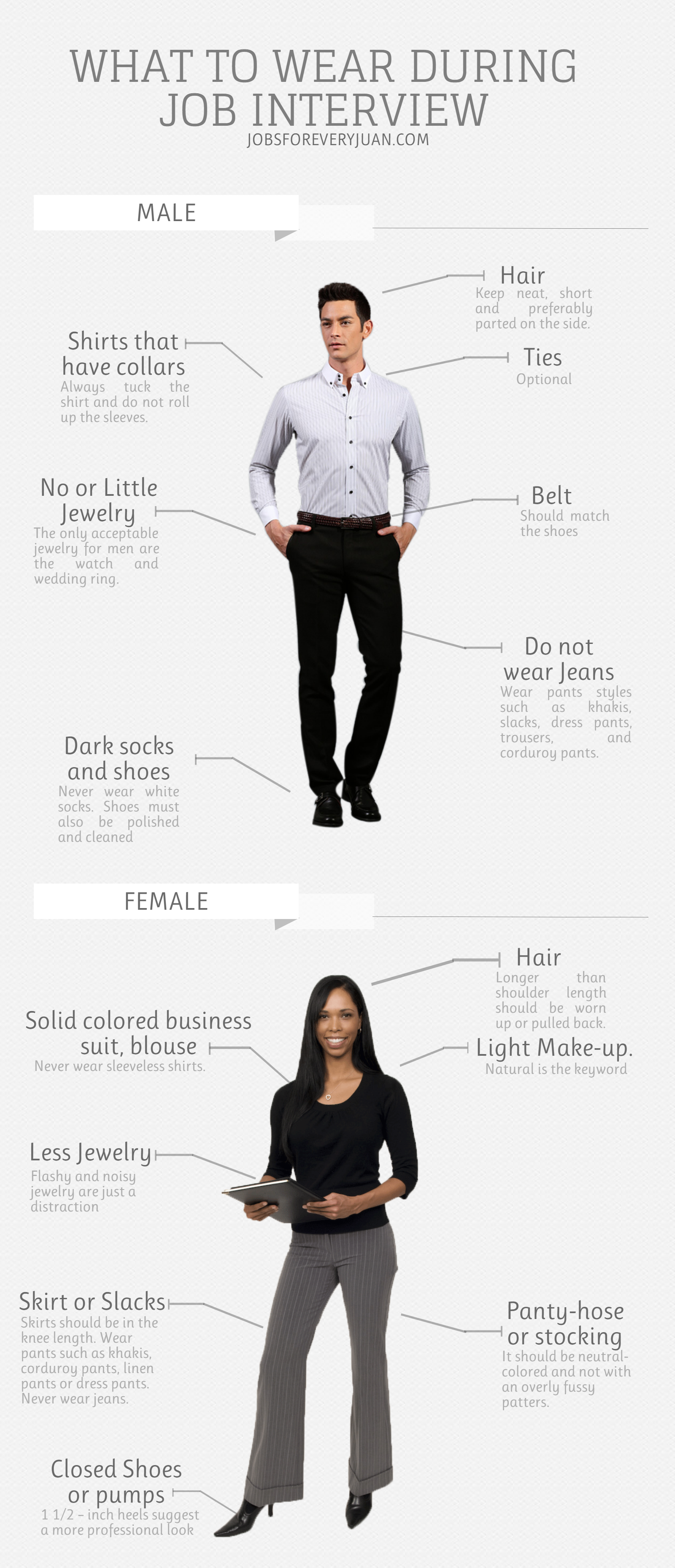c63e2657e89 Job Searching Tip  What to Wear During Job Interview