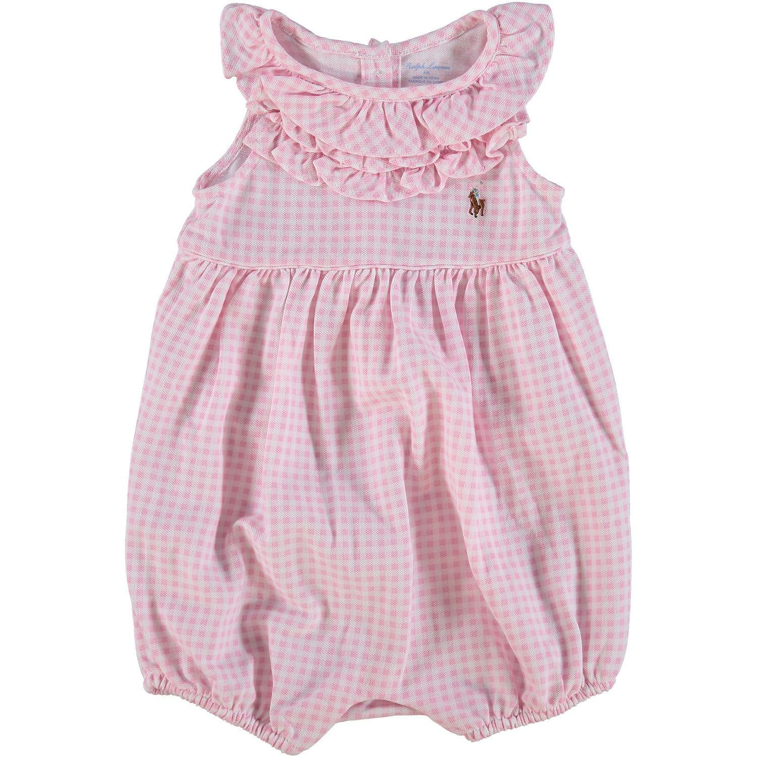 Pink Gingham All In One - Baby Girl - Baby & Nursery - Kids & Toys - TK Maxx