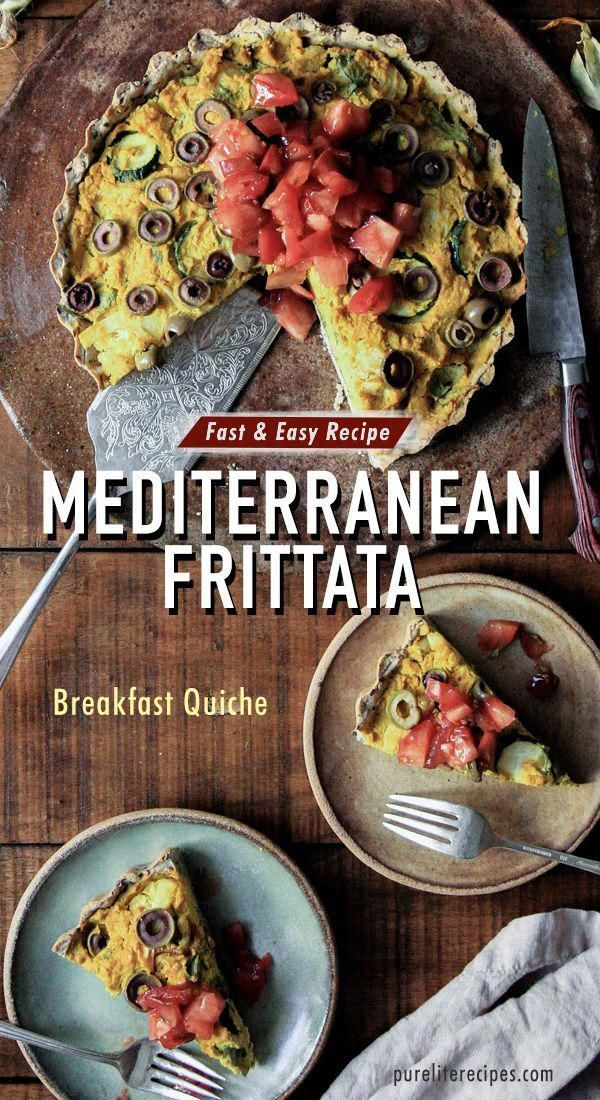 These healthy breakfast and brunch quiche recipes are easy to make in only 25 minutes. A yummy morning meal idea that includes zucchinis, olives and tomatoes. #greatbreakfastrecipes #breakfastrecipes #frittata #fritatta #brunch #breakfastideas #frattata #brunchrecipes #quiche #quicherecipes #bruncheasy #holidaybrunchrecipes #sundaybreakfast #sundaybrunch #LoadedPotatoBurritoTacoBell