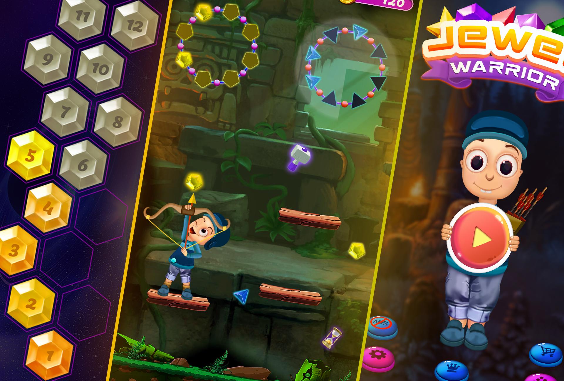 Jewel Warrior CadsSoftStudio in 2020 Offline games