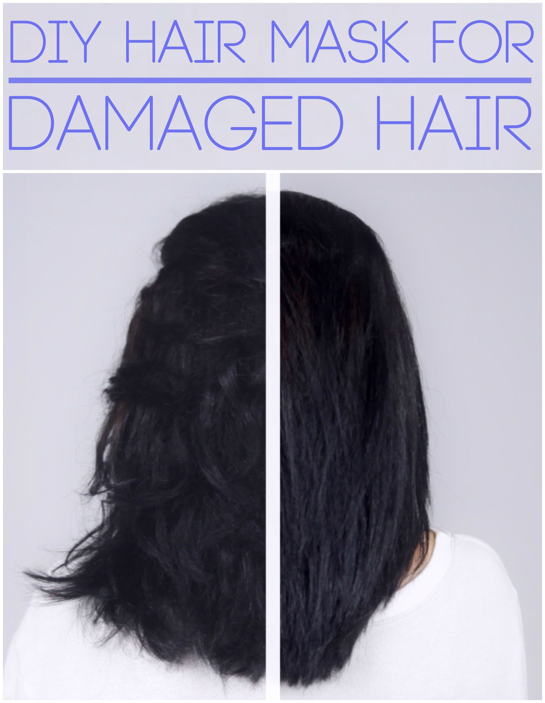 diy hair mask for dry damaged hair 1 egg yolk 2 tbsp coconut oil 1 tbsp honey hair. Black Bedroom Furniture Sets. Home Design Ideas